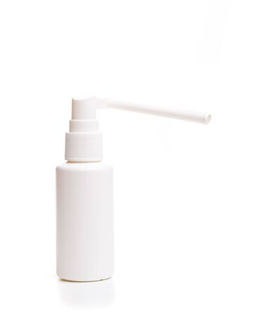 Throat spray isolated on white background. With clipping path - Image