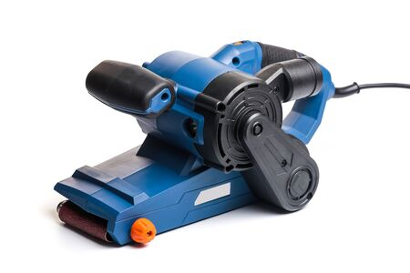 strip sander tool isolated on white background- Image