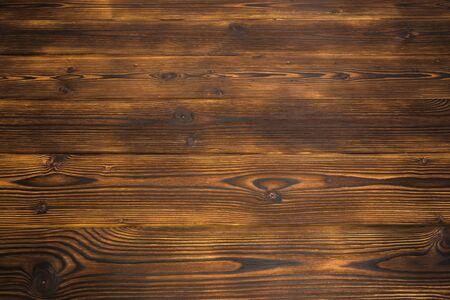 houten bureau achtergrond of textuur - Afbeelding