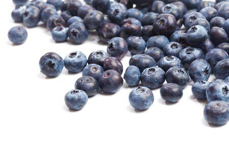 Blueberries isolated on white background - Image