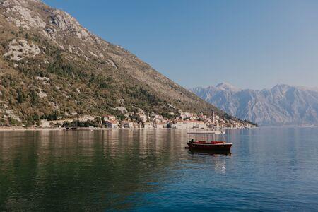 9 Nov 2018 Perast town in the Bay of Kotor, Montenegro