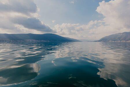Kotor bay seascape, Montenegro