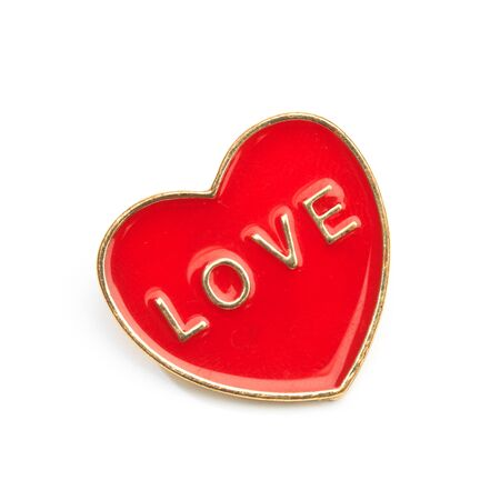 Clothes icon isolated on white background , heart love 版權商用圖片