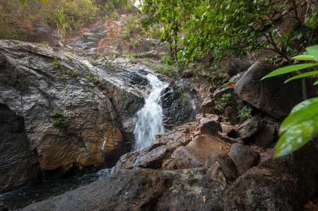tucker: Waterfall in thai national park Stock Photo
