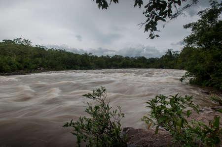 deluge: Flash flood-Flash flood in Thailand.