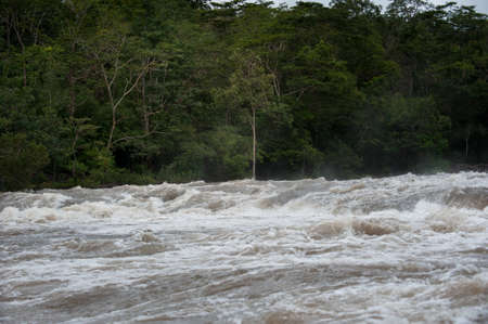 thailand flood: Flash flood-Flash flood in Thailand.