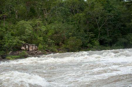 enso: Flash flood-Flash flood in Thailand.