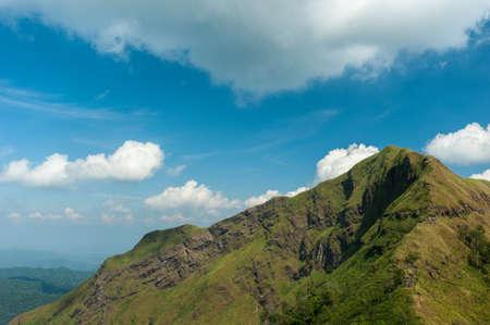 kanchanaburi: travel & hiking at Khao Chang Puak - Thong Pha Phum National Parks highest peak Kanchanaburi in Thailand Stock Photo