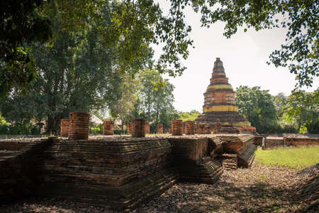 Wiang Kum Kam, The ancient architecture an historic settlement of Thailand located in Chiang Mai, Thailand