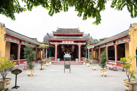 Old temple at Hoi An city,ancient town - highlight of any trip to Vietnam.