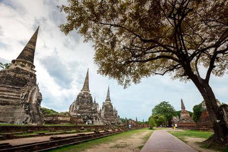 Thailand 's Temple - Old pagoda at Wat Phra Sri Sanphet, Ayutthaya Historical Park, Thailand