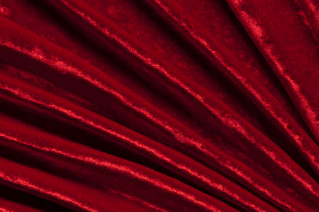 Red velvet as abstract background. photo