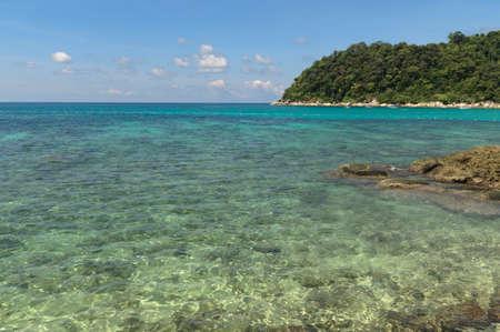 perhentian: Tropical coast from the island Pulau Perhentian,Malaysia.