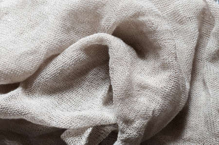 ripple effect: Linen with textured effect as abstract background.