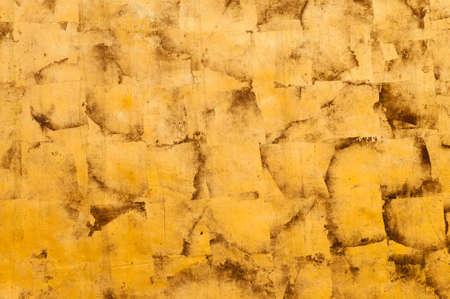 gold leaf: Abstract background of gold leaf. Stock Photo
