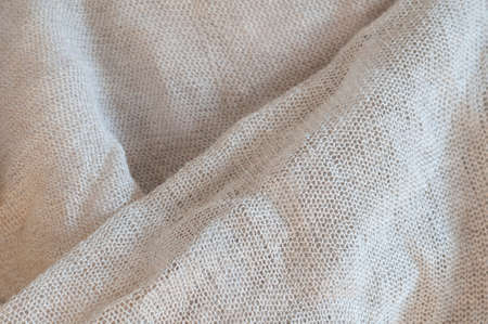 textured effect: Linen with textured effect as abstract background.