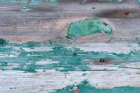 weathered: Background from wooden boards with weathered paint.