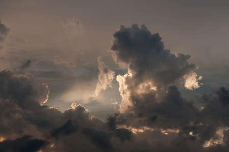 Ciel menaçant avec Cloudscape.
