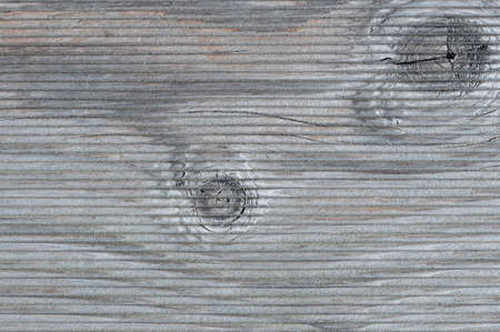 knothole: Rustic gray wooden background with textured effect.
