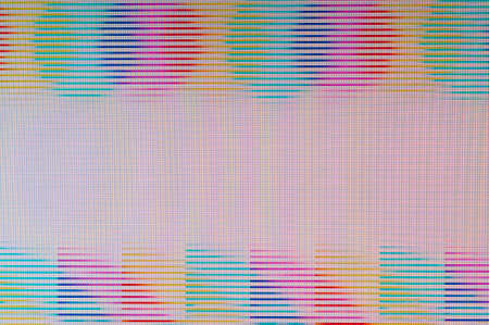 Abstract background of a digital glitch. Stock Photo