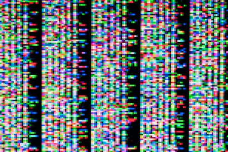 Abstract background of a digital glitch. Zdjęcie Seryjne