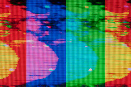 Abstract background, pattern of a digital glitch. Фото со стока