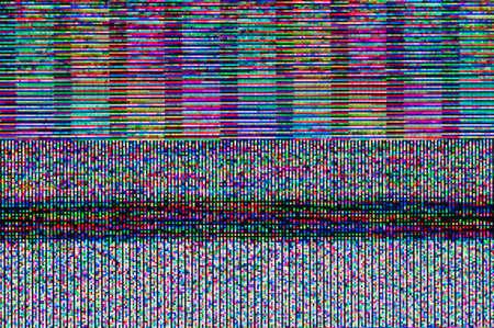 Abstract background, pattern of a digital glitch. Reklamní fotografie
