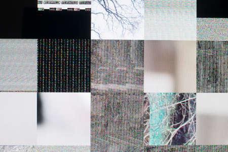 Abstract background of a digital glitch. Reklamní fotografie