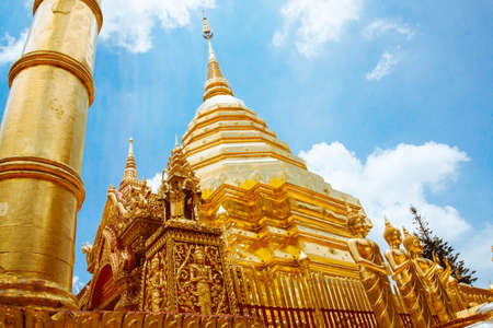 doi: Wat Phrathat Doi Suthep, Chiang Mai Stock Photo