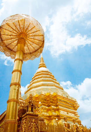 doi: Wat Phrathat Doi Suthep, Chiang Mai Archivio Fotografico