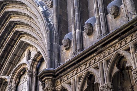 Santa Maria del Pi church in Gothic distric, Barcelona, Catalonia, Spain LANG_EVOIMAGES