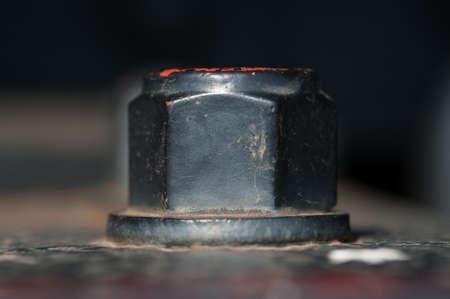 hard component: big black nut