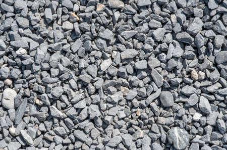 small white rocks