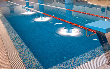 meters: swimming pool 25 meters with start place