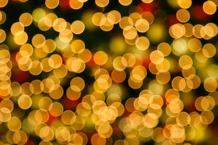 Background of blurred christmas lights photo