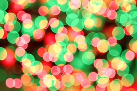 background of blurred red green christmas lights stock photo 6097188