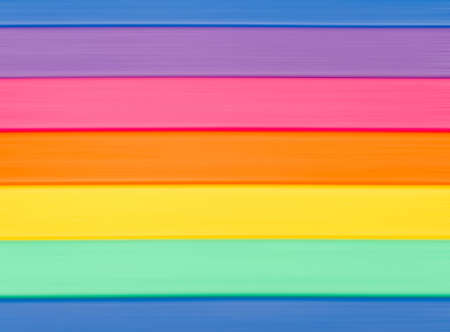 Horizontal lines of color of a rainbow background Archivio Fotografico