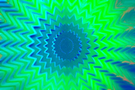 Green motion star. An abstract background photo