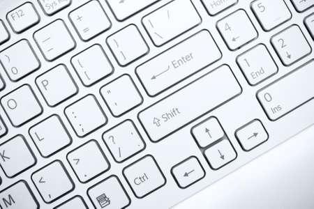 컴퓨터 키보드의 근접 촬영