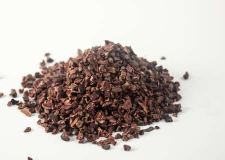 Raw cacao  organic crushed - photo photo