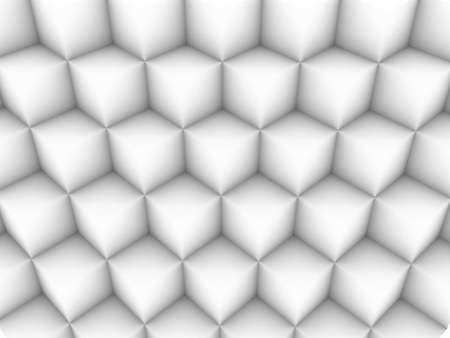 Veel witte vierkantjes, staan een op een