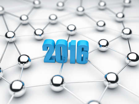 communications technology: Illustration of 2016 date in technology of communications