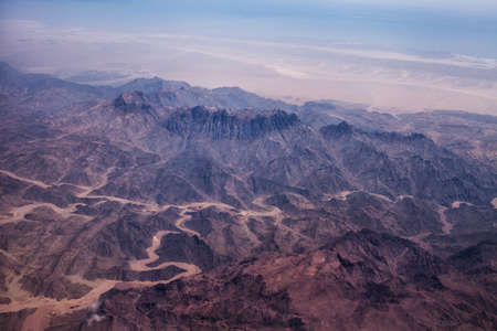 hot climate: Photo of desert with dry and hot climate Stock Photo