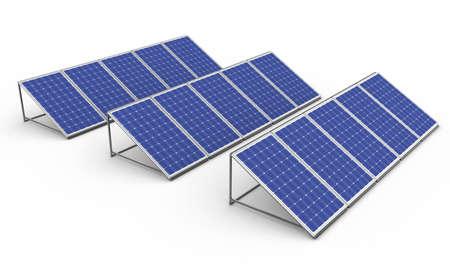 De nieuwe zonne-batterij zorgt voor een pure elektriciteit