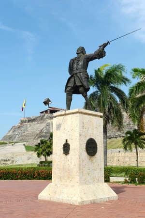 barajas:  Blas de Leso Monumento in Cartagena