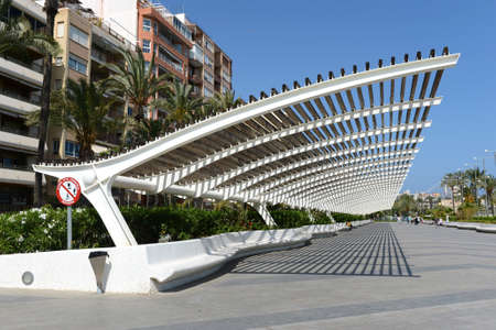 City embankment in Torrevieja Editorial