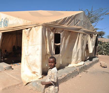 unicef: Campo scuola per i rifugiati africani, alla periferia di Hargeisa Editoriali