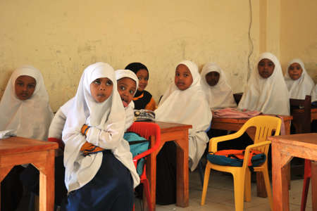 First school Sunshine of Hargeysa  In Somaliland,
