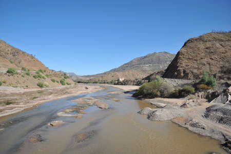 altiplano: The Altiplano. Bolivia Stock Photo