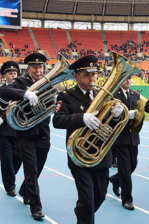 brass  band: Police brass band